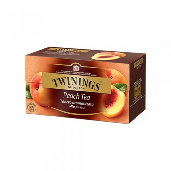 25 FILTRI TWININGS PEACH TEA