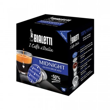 16 CAPSULE BIALETTI MIDNIGHT