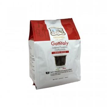 16 CAPSULE GATTOPARDO MISCELA GUSTO RICCO COMPATIBILI CAFFITALY