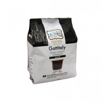 96 CAPSULE GATTOPARDO MISCELA DAKAR COMPATIBILI CAFFITALY
