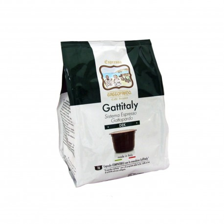 96 CAPSULE GATTOPARDO MISCELA DEK COMPATIBILI CAFFITALY