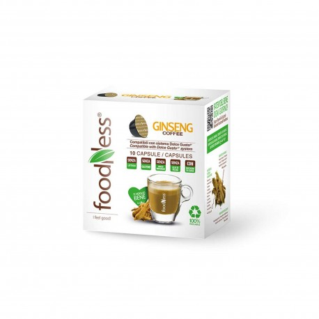 10 CAPSULE FOODNESS Comp. Dolce Gusto GINSENG
