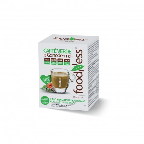 10 CAPSULE FOODNESS Comp. Dolce Gusto CAFFE' VERDE E GANODERMA