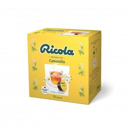 10 CAPSULE RICOLA Comp.Dolce Gusto Camomilla