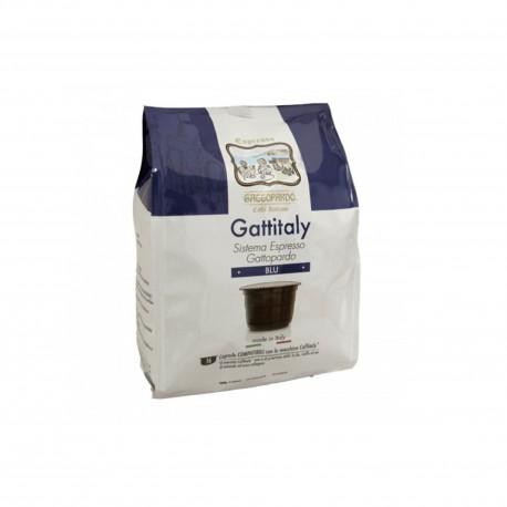 16 CAPSULE GATTOPARDO MISCELA BLU COMPATIBILI CAFFITALY