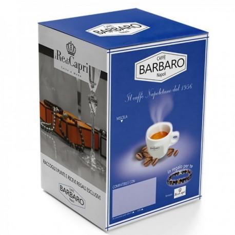 100 CAPSULE BARBARO MISCELA CREMOSO NAPOLI COMPATIBILI CAFFITALY